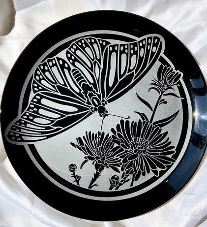 Блюдо скляне «Метелик».