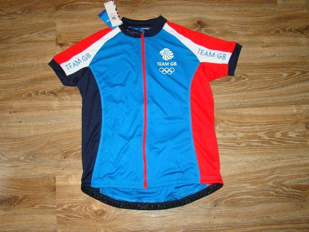 Новая спортивная футболка , велофутболка, р 14-16 (L-XL)