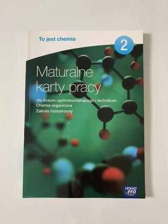 Chemia maturalne karty pracy