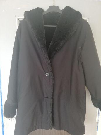 Płaszcz zimowy dwustronny