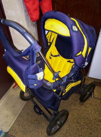 Коляска Tako зима-лето +сумка-переноска для ребёнка
