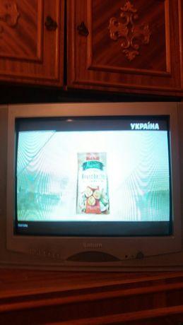 Телевизор сатурн с приставкой т-2