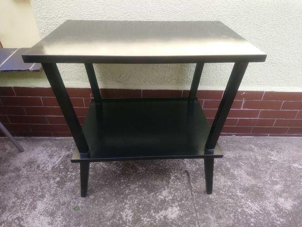 Stolik pod TV czarny