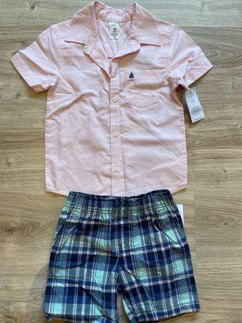 Новий костюм: сорочка, шорти Carter's для хлопчика 3 роки, 98