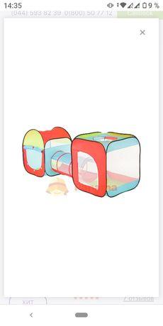 Детская палатка с туннелем - Shantou Toys