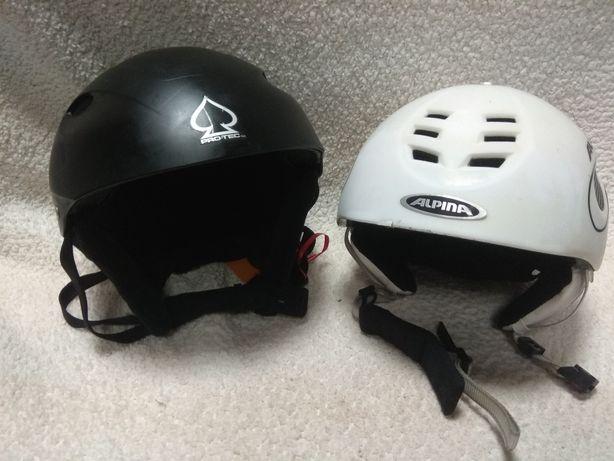 Alpina, Protec горнолыжные шлемы.