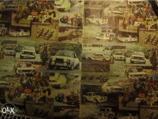 Posters antigos Rallye e F 1