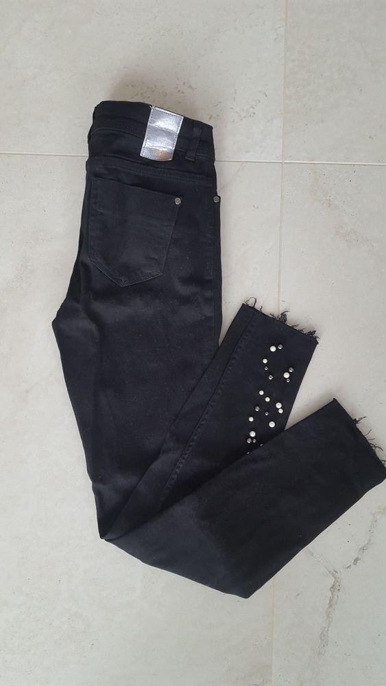 ZARA czarne spodnie jeansy dżinsy 38 M Prószków - image 1