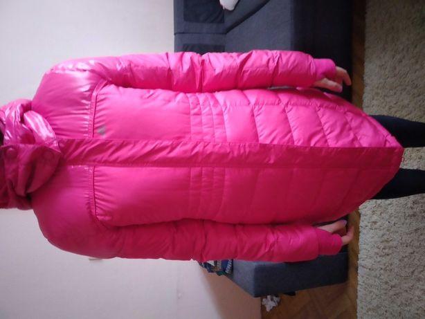 Пуховик adidas  розовый