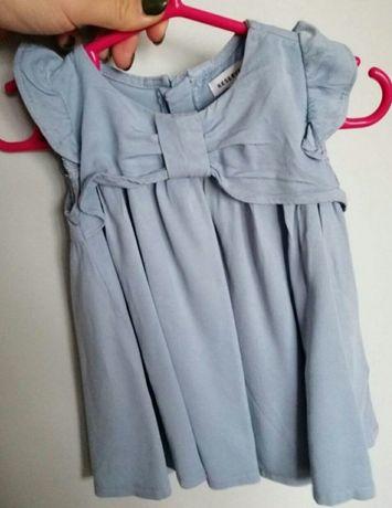 Błękitna sukienka Reserved 62