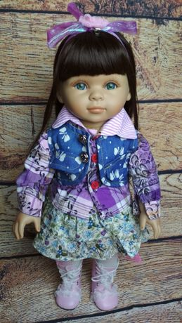 Кукла, реборн, reborn, american girl, с длинными волосами.