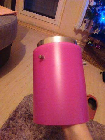 Lampa sufitowa różowa