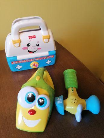 Zestaw trzech zabawkek