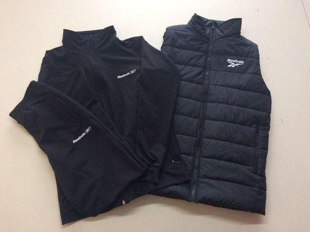 Комплект мужской спортивный костюм теплий+мужская жилетка