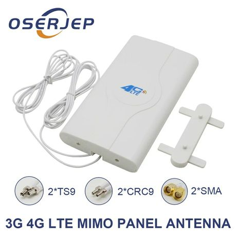 Antena LTE 2 x SMA MIMO dual