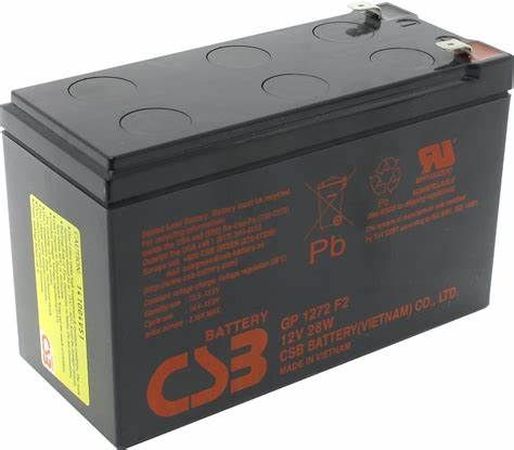 Akumulator Bateria do UPS GP1272 GP 1272 CSB 7,2Ah 12V