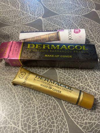Тональный крем тоналка Dermacol Make-Up Cover spf 30 водостойкий