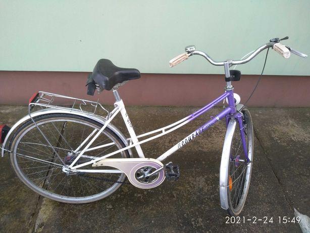Rower niemiecki damka koła 28