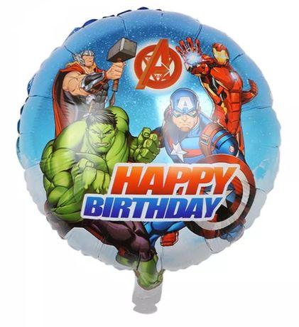 Pack de 5 balões dos Avengers com 45cm (portes gratuitos)