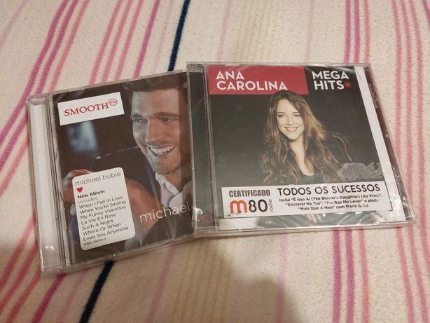 Michael Bublé, Ana Carolina CD SELADOS