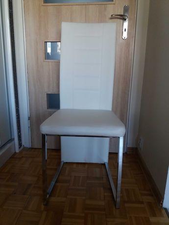 krzesło białe 1 szt.