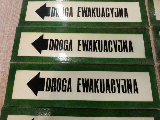 Droga ewakuacyjna 11sz. tabliczka