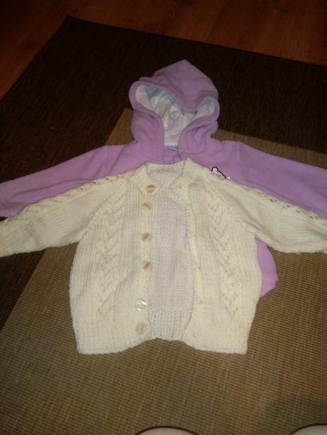 Bluza i sweterek dla dziewczynki