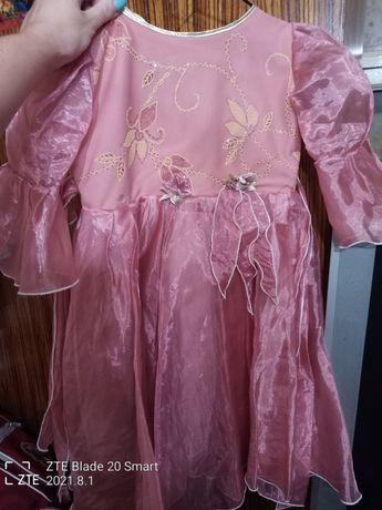 Платье нарядное, цветочек