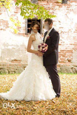 Suknia ślubna SPOSABELLA r.36 + bolerko