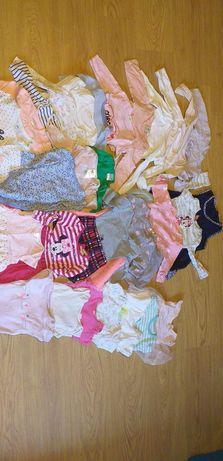 Mega paka ubrań dla dziewczynki 80