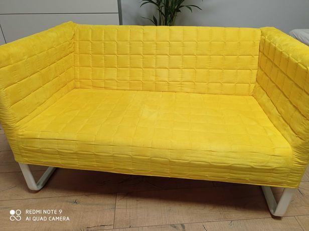 Kanapa Ikea, żółta