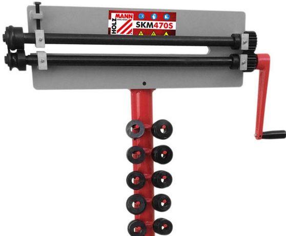Fieira Rebordeadora Perfiladora chapa manual 0,8 mm com matrizes
