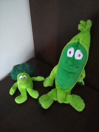 Dwa świeżaki zielone