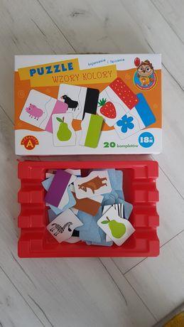 Puzzle Wzory i kolory Alexander