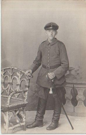 Stare zdjęcia żołnierz pruski