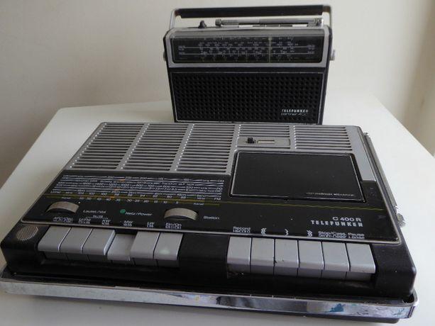 2x Radio Telefunken C400R + Telefunken Partner 400