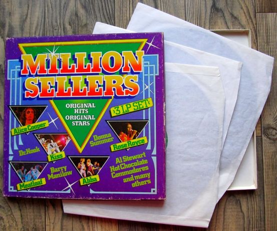 "Million Sellers, Box – 3LPs, , winyl 12"", 33 rpm"
