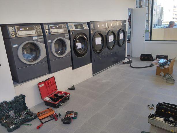 Self service lavandaria Líder de mercado em Portugal 28 dias montado