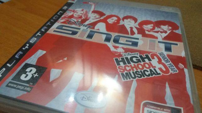 Jogo PS3 Disney Sing It! – High School Musical 3: Senior Year
