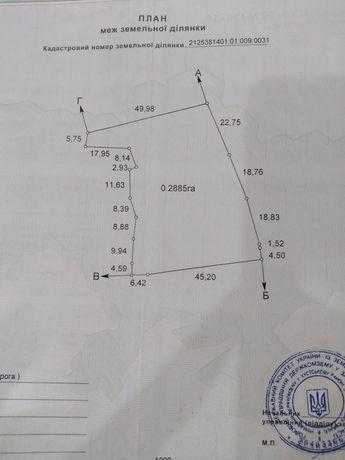 Земельна ділянка 0.28соток