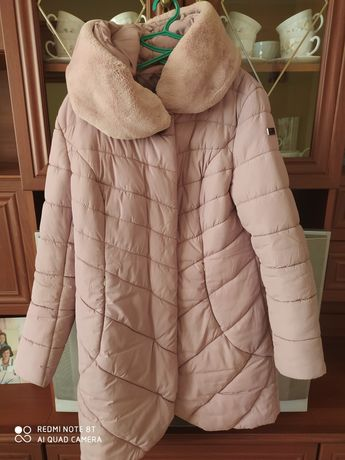 Куртка зимова , колір пудра