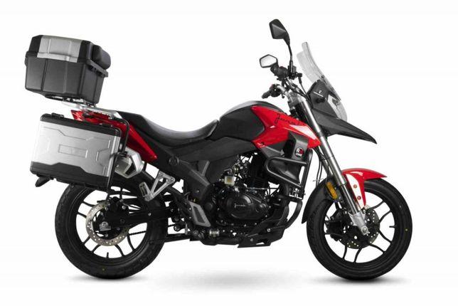 Motocykl 125 Junak RX ONE z kuframi,Rybnik,10 lub 20 rat 0%.