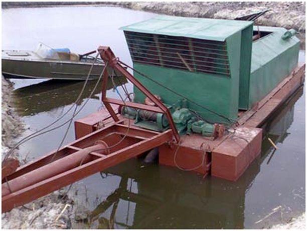 Земснаряд дизельный УПМ-2 350/20 - Гидронамыв