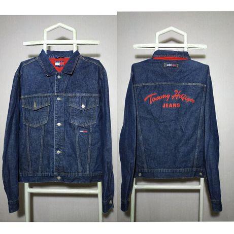 Винтажная джинсовая куртка Tommy Hilfiger