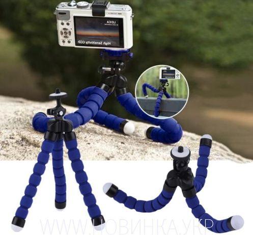 Держатель камеры трипод гибкие Осьминог штатив Кронштейн selfie