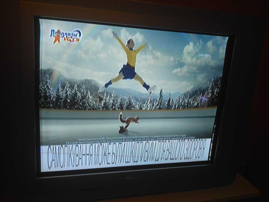 Продам телевизор ФИЛИПС 68 см(175д) диаг.в хорошем состоянии.Недорого. Харьков - изображение 1