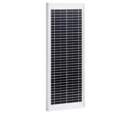 Panel słoneczny, 10 W, polikrystaliczny, aluminium i szkło NOWY