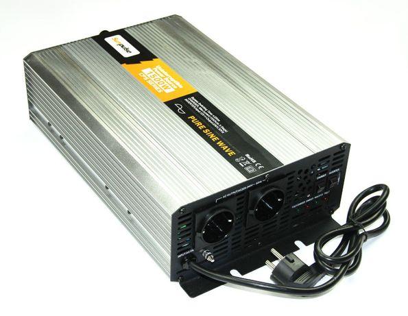 Inversor Conversor UPS Carregador Onda Pura 1500W/3000W Reais