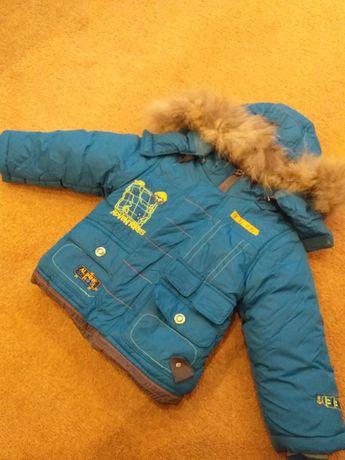 Дитяча,зимова курточка на хлопчика