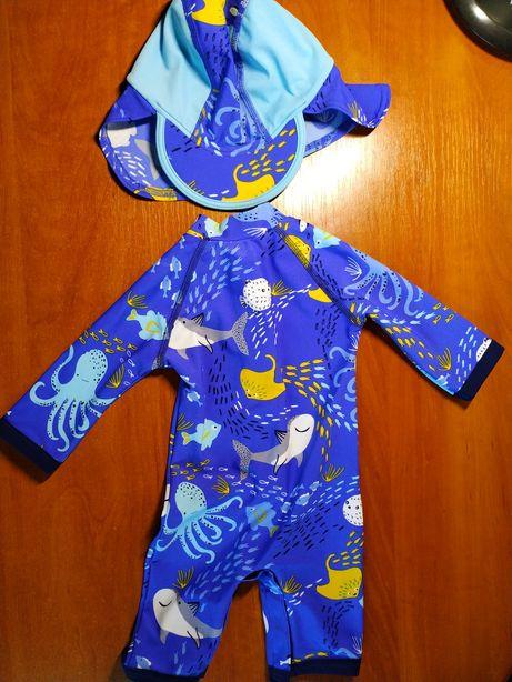 Плавательный костюм на 6-9 месяцев John Lewis